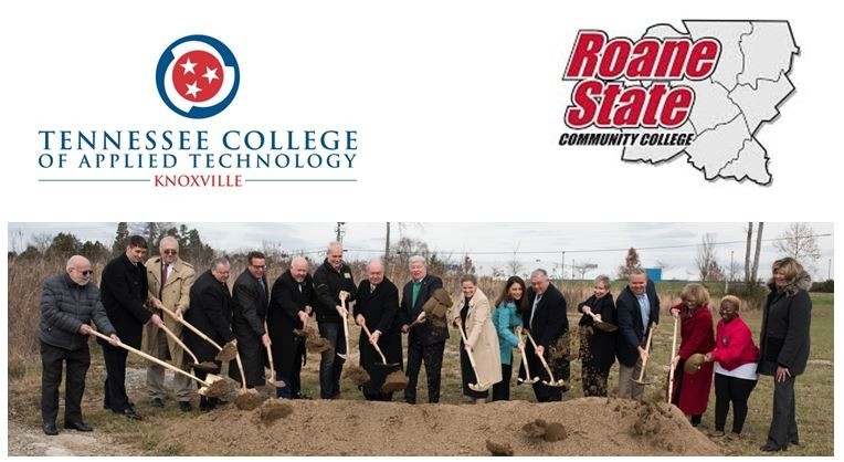 Ground Breaking For Anderson County Higher Education Center Tcat